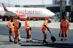 Airport paving project