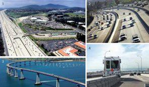 I-15 Express Lanes, and Coronado Bridge, San Diego