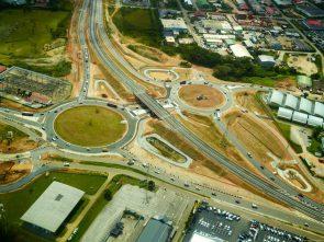 Roads in French Guiana
