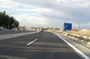 Highway A8 Olimpia construction project
