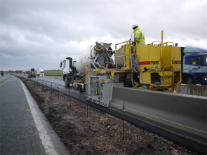 In-situ type barriers are widely used in Europe and the US