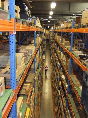 Komatsu Europe's logistics centre