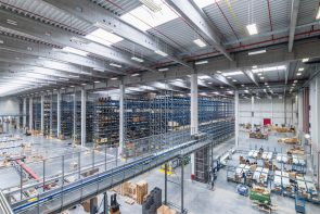 Liebherr's new logistics facility