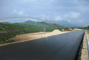 A new road in Albania