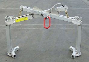 Special lifting devices can be used to set up attenuator arrays