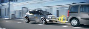 Autonomous emergency braking in action