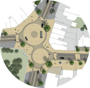 The design for this community revitalisation project