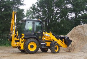The versatile backhoe loader