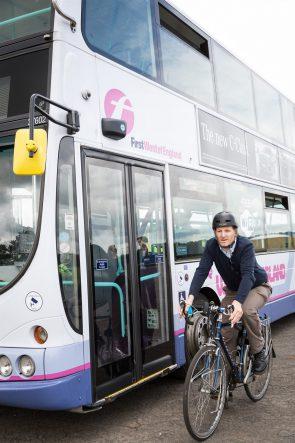 CycleEye cyclist sensor systems