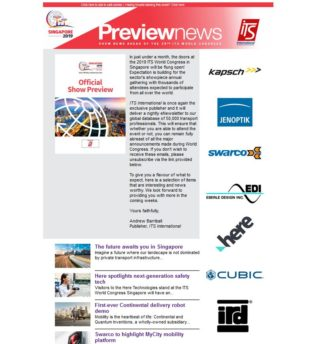 Before the show – Preview eNewsletter